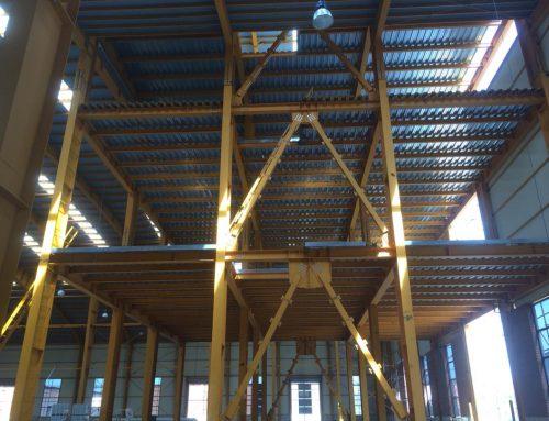 پروژه کارخانه چسب ثنا