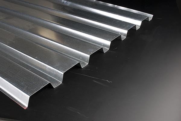 عرشه سقف فلزی نوع B 80 KSI (دنده پهن)