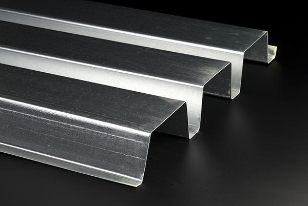 عرشه سقف فلزی نوع N (دنده عمیق)